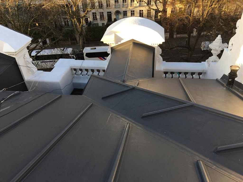 Roof leading London