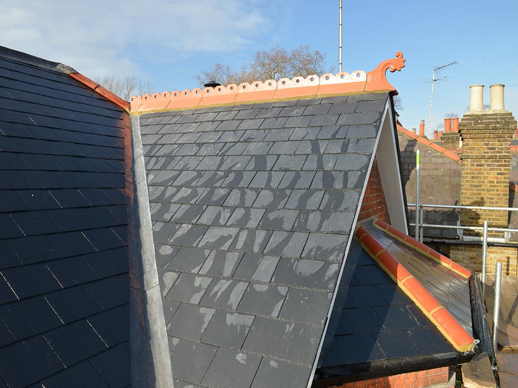 Domestic Slate Roof London