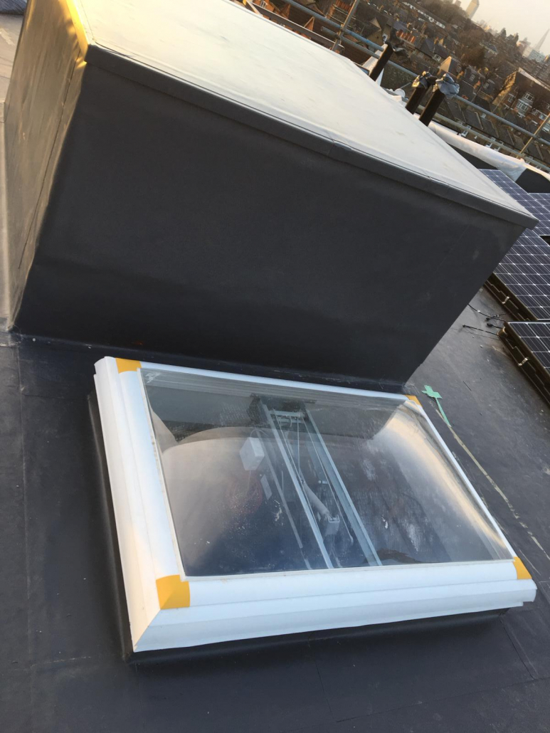 commercial roof light london building