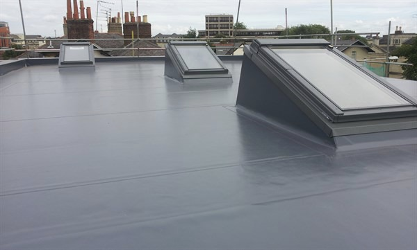 commercial flat roof light london