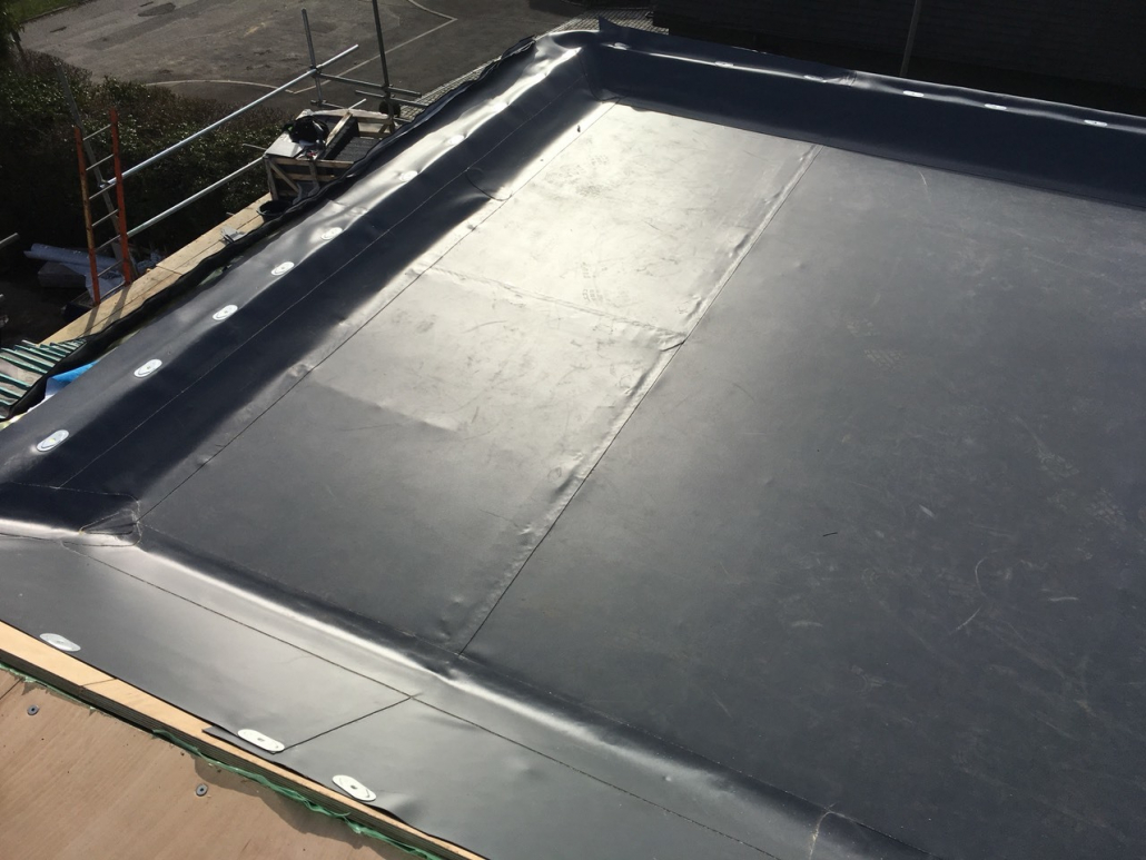flat roofing on london property