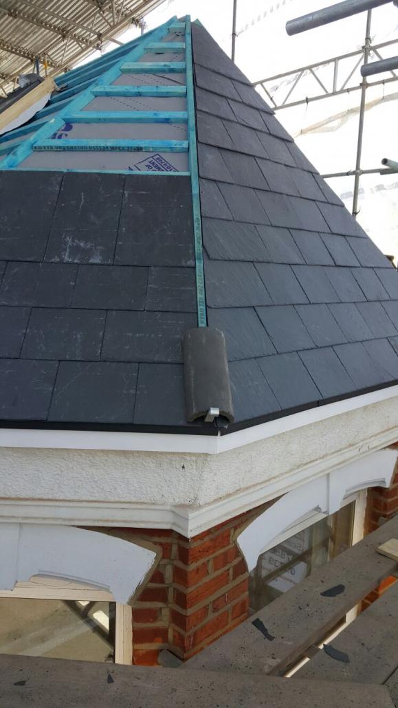domestic slate roof london