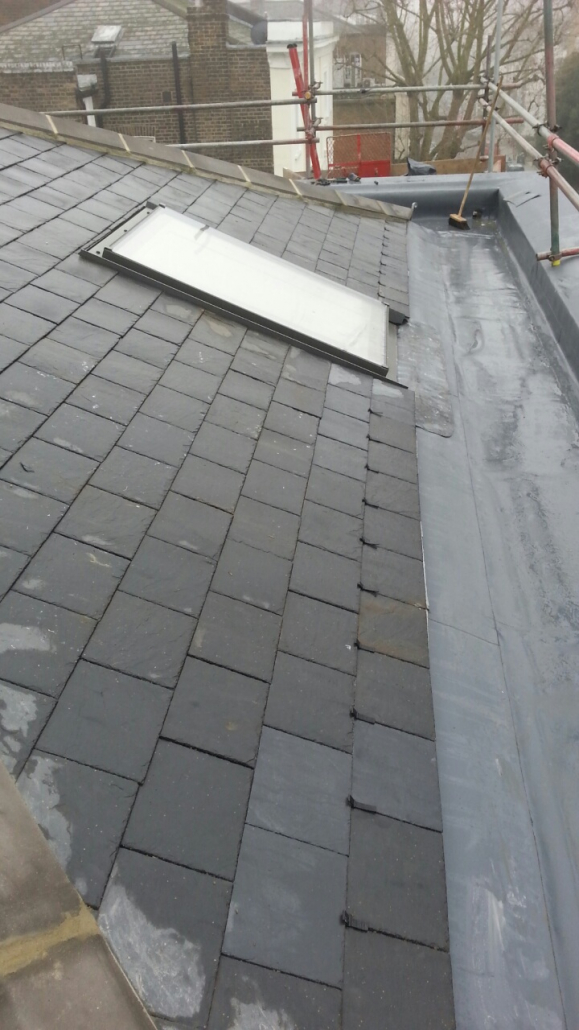 Commercial slate roof london
