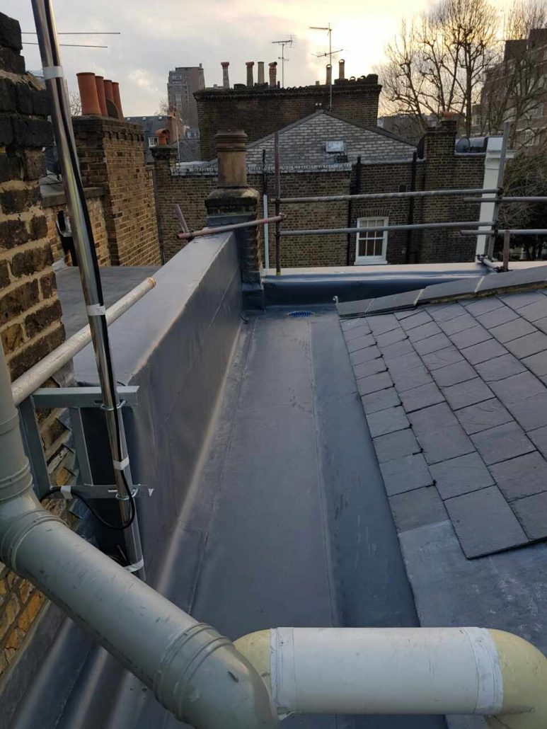 commercial slate roofing in london